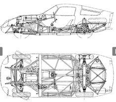 Alfa Romeo TZ1 cutaway drawing...