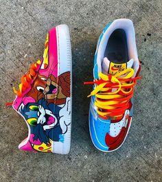 Sneakers Nike Jordan, All Nike Shoes, Jordan Shoes Girls, Hype Shoes, Girls Shoes, Custom Sneakers, Custom Shoes, Cute Nikes, Fresh Shoes