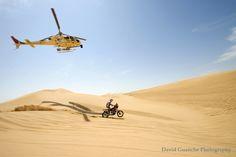 La sombra del helicóptero