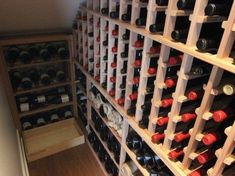 under stairs wine cellar designs | west_seattle_custom_wine_cellar_under_staircase_wine_racks_4.438x328 ... #wineracks