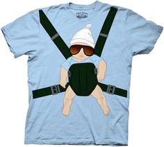 HANGOVER, THE BABY CARRIER MENS T-SHIRT $19.95 To know more go http://streetlegaltshirts.com/ #T #Shirts #tshirt #t-shirt #men