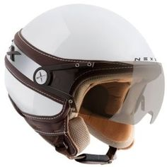 NEXX X60 Ice White Motorcycle Helmet