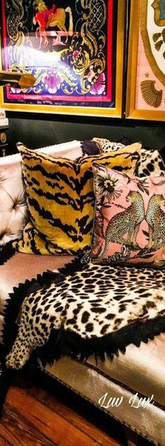 Leopard Fashion, Animal Print Fashion, Animal Print Rug, Custom Pillows, Decorative Pillows, Pink Animals, Pillow Quotes, Rich Girl, Pillow Talk