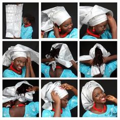 Do-It-Yourself : Gele Tying Tutorial