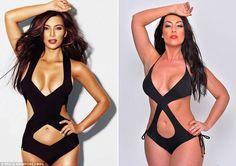 Part-time Kim Kardashian lookalike