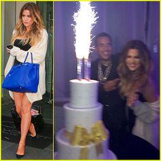 Khloe Kardashian Celebrates 30th Birthday with Boyfriend French Montana  Her Family!