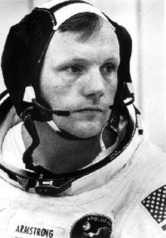 Neil Alden Armstrong ~ August 5, 1930 – August 25, 2012 ~ An American astronaut and the first person to walk on the Moon. ~ FIRST PIN