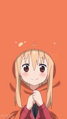Umaru doma himouto umaru chan, anime and wallpaper. Anime Chibi, Fanarts Anime, Manga Anime, Cartoon Wallpaper, K Wallpaper, Cute Anime Wallpaper, Mobile Wallpaper, Trendy Wallpaper, Wallpaper Quotes