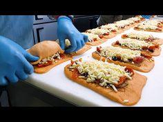 Cheetos, Tostadas, Waffle, Pain Pizza, Cheese Bombs, Korean Street Food, Asian Recipes, Ethnic Recipes, Cheese Bread