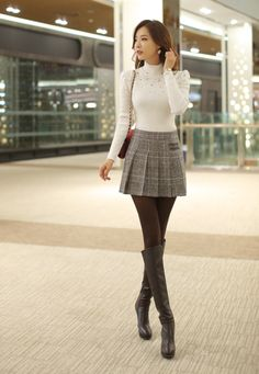 Dressed up classy look