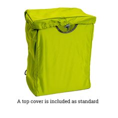 Green Packbasket with top cover