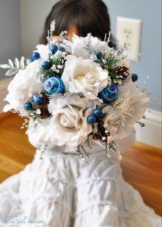Winter wedding bouquet.