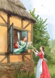 Anastasia Arkhipova Fairy Tales - Snow-White and Rose-Red