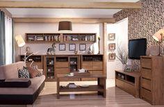 Obývacia izba - Tempo Kondela - Monte 2 Vkusná drevená obývačka spríjemní každé bývanie.