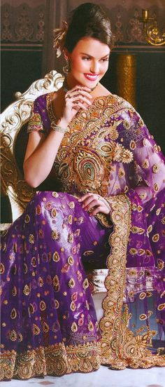 Stunning bridal sarees in a variety of designs. Choose from a vast bridal sarees collection or pick your favorite bridal lehenga in gorgeous colors and bespoke fabrics. Bridal Lehenga, Lehenga Choli, Saree Collection, Bridal Collection, Indiana, Bridal Sarees Online, Indian Dresses Online, Online Shopping Sarees, Indian Bridal Wear