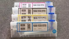 Cheaper US $50.00  4pcs 220ml empty cartridge use for Roland/Mimaki/Mutoh and other printer bulk ink system CISS cartridge  #empty #cartridge #RolandMimakiMutoh #other #printer #bulk #system #CISS  #Electronics