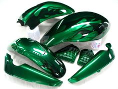 New Emerald Custom Paint Set by JE Illusions