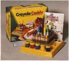 I LOVED mine!!! I remember when I got this. I was so excited because I wanted it so badly. I was obsessed with all things Crayola. And today I'm an artist. Who'd have thought!?