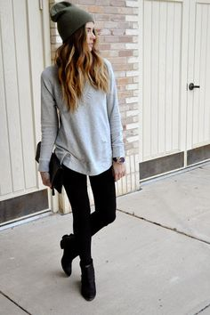 Street Style: Sweater #fashion #FashionOne