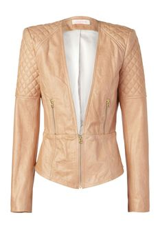 Amaze 'checking out' quilted leather jacket by sass and bide - I want you now!