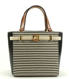 Kate Spade Houston Street Fabric Black Stripe WKRU2447 -- You can find out more details at the link of the image.
