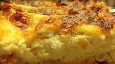 Ενα υπέροχο γρήγορο σουφλέ ( Μπριός ) με ψωμί του τοστ !!! Cookie Dough Pie, Pizza Recipes, Cooking Recipes, Macaroni And Cheese, Tart, Side Dishes, Food And Drink, Snacks, Breakfast