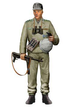 """WEHRMACHT - Unterfeldwebel, Zugführer, Panzer-Grenadieren Division """"Großdeutschland"""", Kursk 1943"""