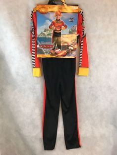 Disney Cars Lightning McQueen Halloween Costume Disguise Size New , Halloween Costumes For Sale, Disney Halloween, Lightning Mcqueen, Disney Cars, Complete Outfits, Holidays Halloween, Thrifting, Cosplay, Costume Ideas