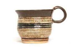 Ceramika, rękodzieło kubek gliniany, szkliwiony.