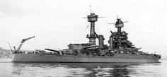 Another picture of 16 in Colorado class battleship USS Maryland, February 9 1942 (see nearby).