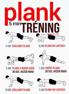 Plank 5 minútový tréning