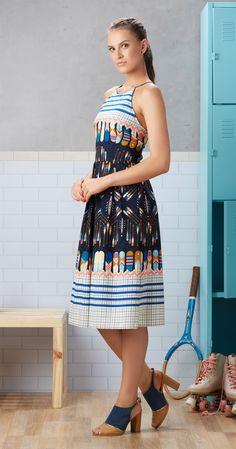 Só na Antix Store você encontra Vestido Midi Remo com exclusividade na internet