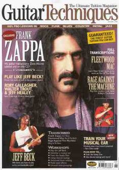 guitar techniques - june 2004      (2004/06, mag + cd, uk, future publishing)  The june 2004 edition of guitar techniques magazine had a transcription of Frank Zappa's 'Zoot Allures'. The CD included  a performance of the track by Guthrie Govan.