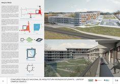 Veja a seguir os premiados (pré-classificados, nos termos do Edital)doConcurso Nacionalde Arquitetura – Moradia Estudantil – UNIFESP – Campus Osasco – SP.