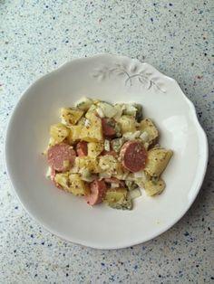 """Ensalada de patata a la """"alemana"""" / """"German"""" Potato Salad, from Blue Cuisine"""
