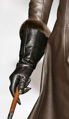 """Hermes Gloves. """"Repinned by Keva xo""""."""