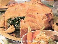 Cukroví na Vánoce: Koláč se špenátem Meat, Chicken, Food, Meal, Eten, Meals, Buffalo Chicken, Cubs