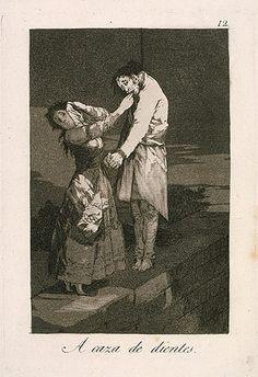 Francisco de Goya y Lucientes: One Hunting for Teeth (18.64.12) | Heilbrunn Timeline of Art History | The Metropolitan Museum of Art