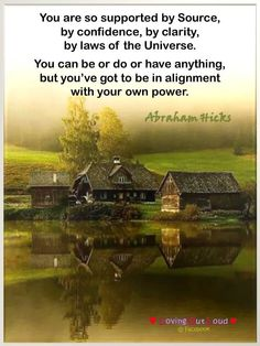 We didn't say: when you feel good you are allowing good, and when you feel bad you are allowing bad (although it may translate into your experience in that way). There is only a Source of Well-being—which you are allowing or not. ---Abraham