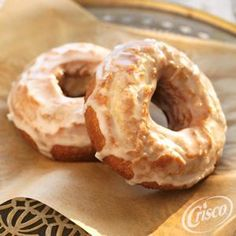 Buttermilk Doughnuts from Crisco®