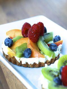 Cream Cheese Fruit Tarts #WOWfoodanddrink