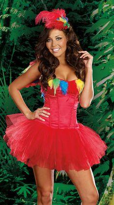 Pretty Parrot Costume