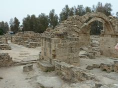 Paphos, Cyprus, World Heritage Site, this was a castle in the 12th century, it got taken down by an earthquake and never rebuilt (i took this pic 1st may 2012)