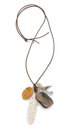 Chan Luu Multi Charm Necklace - lovely :)