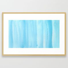 151208 Blue Framed Art Print by valourine Watercolor Dreamcatcher, Watercolor Paintings Abstract, Butterfly Watercolor, Easy Watercolor, Watercolor Pattern, Abstract Canvas, Watercolour Art, Abstract Pattern, Watercolors