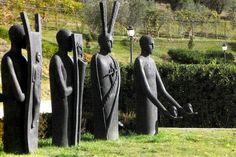 Testimoni by Mimmo Paladino, 1998_ Parco Internazionale della Scultura MARCA_ Catanzaro (IT)