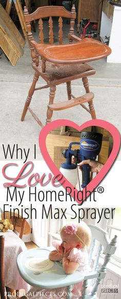 Why I Love My HomeRight Finish Max Paint Sprayer and a GIVEAWAY for YOU! by Prodigal Pieces www.prodigalpieces.com #prodigalpieces