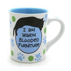 Cat Furniture Mug | Our Name is Mud
