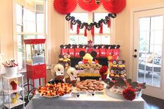 mickey mouse clubhouse birthday party | mickey mouse clubhouse and thought i would create a red minnie mouse ...