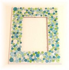 Fun picture frame #craftproject from @Matty Chuah Ribbon Retreat! Custom size it in our Unfinished Woods: http://www.pictureframes.com/search/frames?search=unfinished #craft